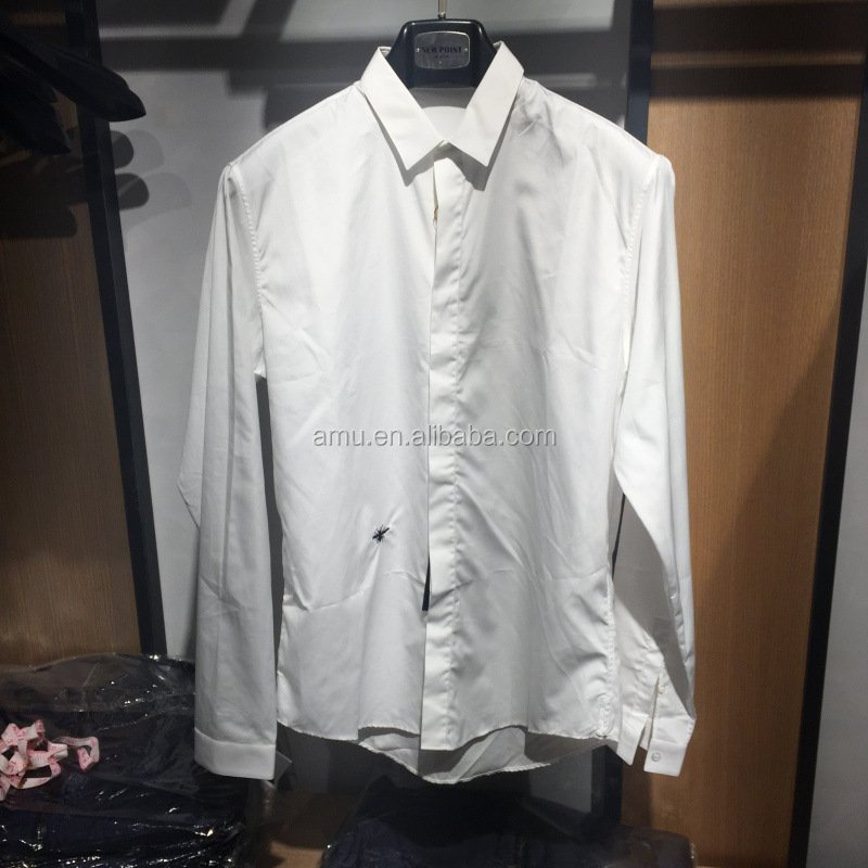 Simple style white shirt men dress shirts wholesale new Buy white dress shirt
