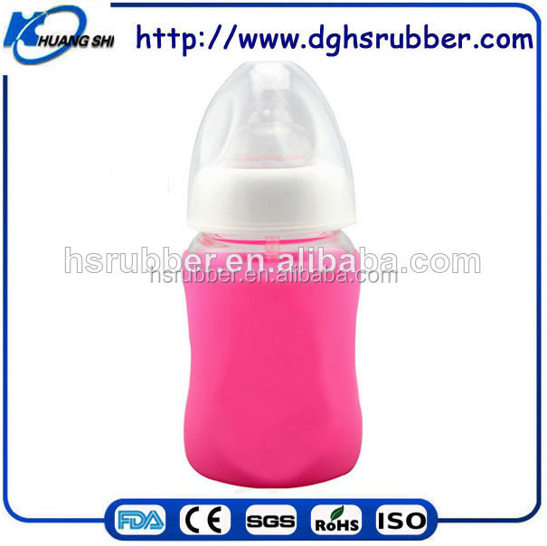 China Factory Promotional item babies bottles soft liquid silicone baby bottles