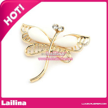 New Arrival Wholesale Brooch Pin Vintage Silver Rhinetone Brooch For Wedding Dresses