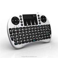With Best Price Hot Sell Portable Mini Keyboard Mini i8 Wireless Bluetooth 2.4G Keyboard with Touchpad for PC Pad Andriod TV
