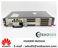huawei gpon epon ma5616 ip dslam onu chasis with DC AC power card and ma5616 cable aspb adle