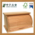 roll top bread storage serving box/bin/container