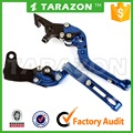 CNC motorcycle folding and extendable brake cultch lever for Bajaj pulsar 180