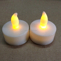 Flickering Flameless LED Tea light Rechargeable LED Candle Lights