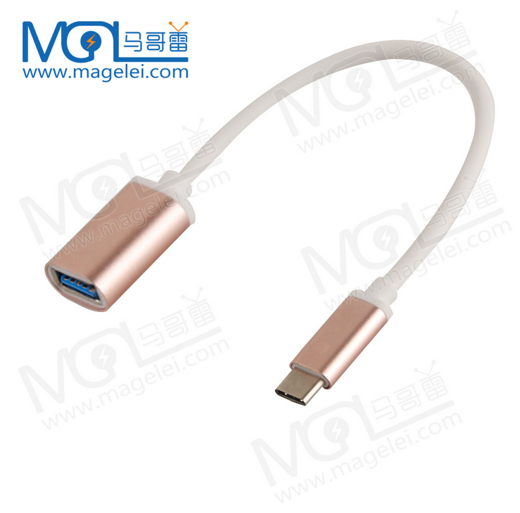 high quality Usb3.1 Type <strong>C</strong> Male to USB 3.0 a Female OTG Host Cable Adapter Converter