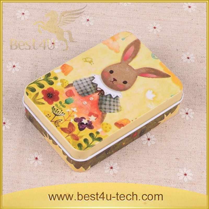 Custom Manufacturers Non toxic Refined printed Metal Tin Box