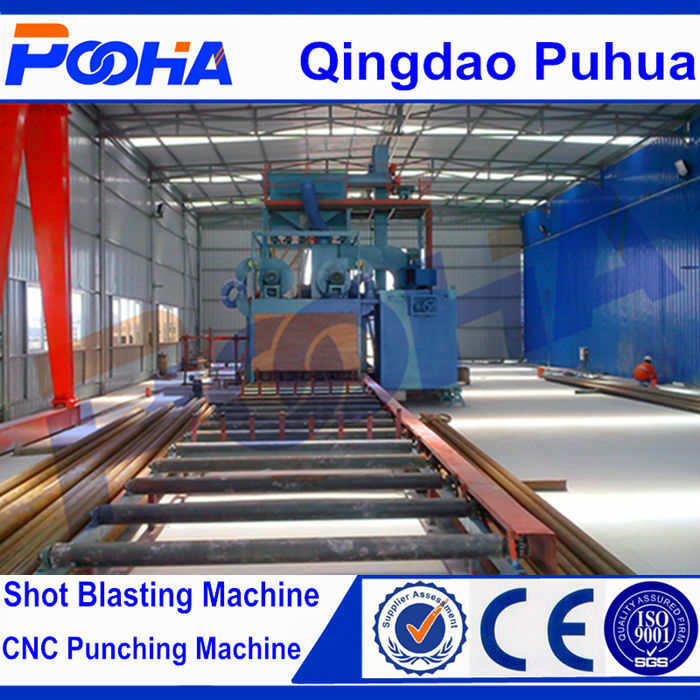 CE Quality Engineer design sand blast/sand shot blasting/automatic shot blasting machine
