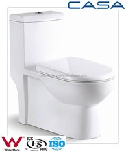 High end building materials syphonic S trap toilets 10 year warranty toilet