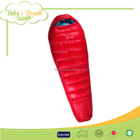 BSB1310B top selling warm human size sleeping bag goose down -20, grees sleeping bag-20