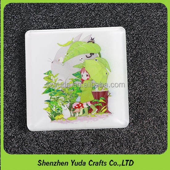 Promotion perspex crafts coaster uv printed custom acrylic photo coaster