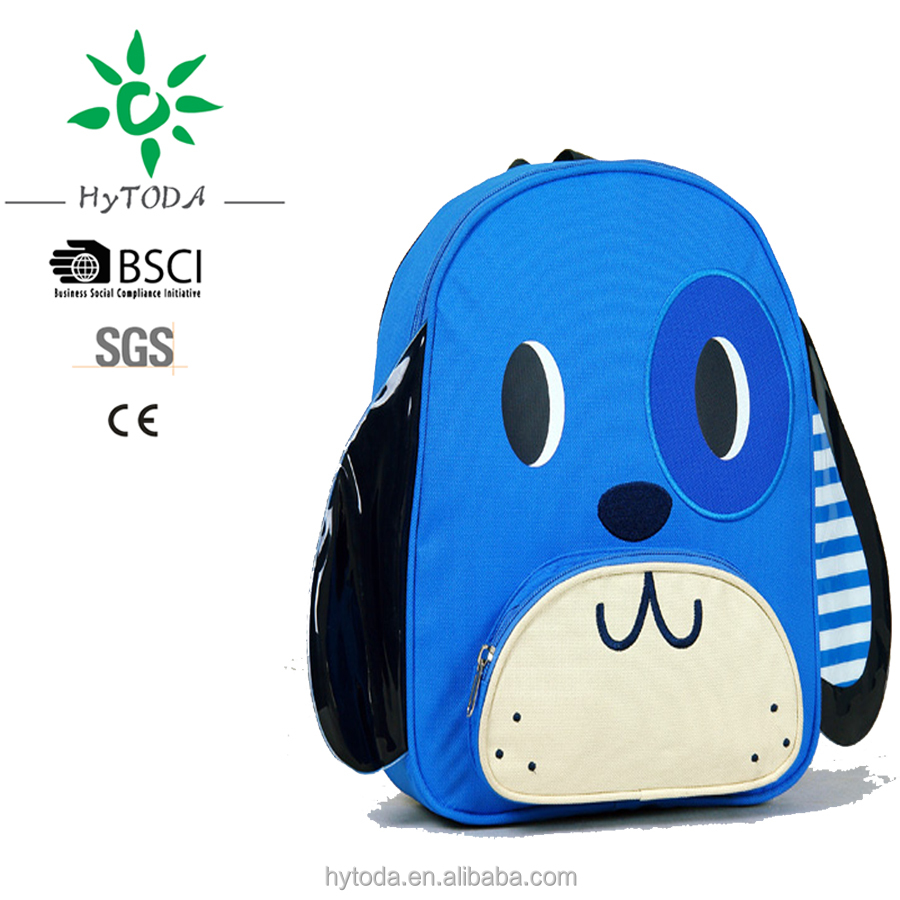 Custom cartoon kids backpack waterproof school backpack