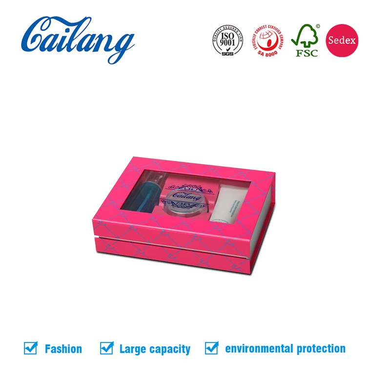 Eco Friendly cosmetic industrial use packaging Box for skin care products paper packaging gift set