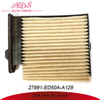 japanese car cabin filter for Nissan Tiida oem:27891-ED50A-A129