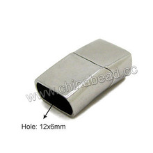 wholesale jewelry findings magnetic stainless steel cord clasp for necklace making