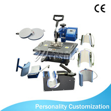 CE Approved 8 in 1 Combo Heat Press Machine with Accessories