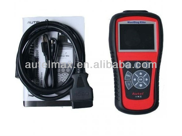 Support 2013 Latest and High performance Autel Md802 Code Reader Car Scanner Test Machine Maxidiag Elite Md802