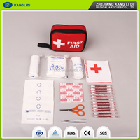 Professional first aid kit supplies