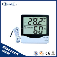 Wholesales best sales gsm thermometer hygrometer, digital thermo hygrometer and clock, digital lcd thermometer & hygrometer