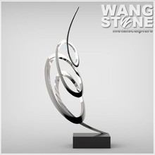 Modern Interior Decoration Design Abstract Metal Sculpture