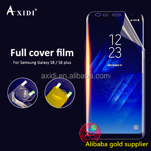 2017 new trending HD clear screen protector for samsung galaxy s8 s8 plus