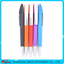 best sell plastic cheap feature rubber ballpoint pen