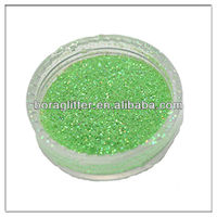 Water-soluble 1/256'' Pure Pearl Green Powder