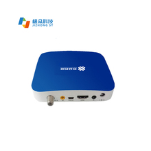 Jizhong dvbc HD cable tv set top box supports English and Spanish interfacing and multi condition receiving <strong>system</strong>