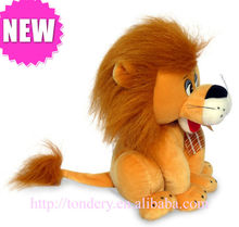 2013 new style lovely Stuffed and plush lion animal soft toys for promotion