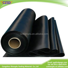 SD waterproof black color 10MM jersey neoprene coated rubber sbr sheet with nylon fabric white
