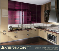 New style modular kitchen cabinet color combinations