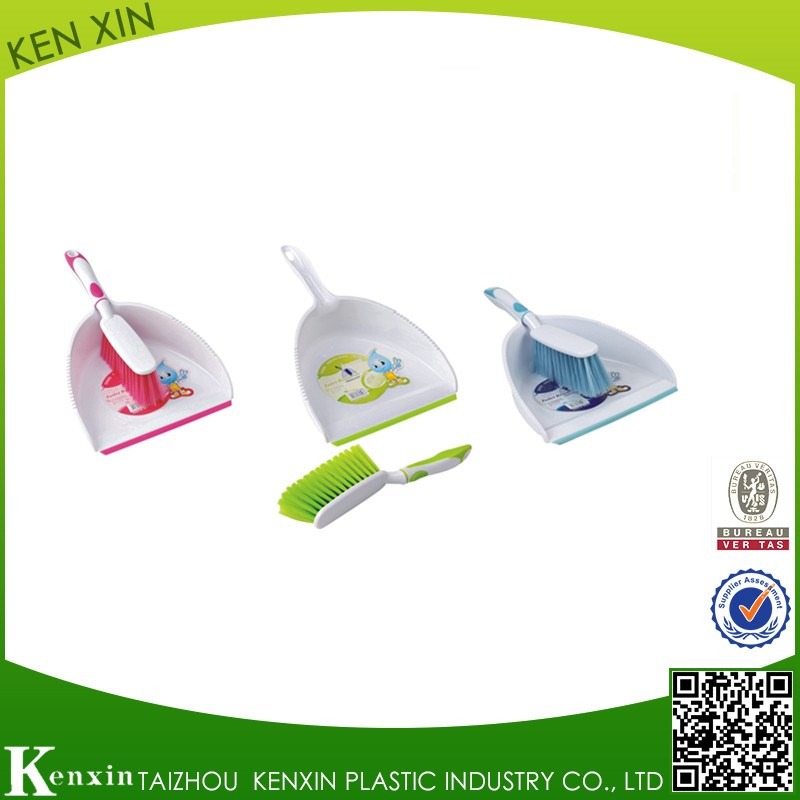 Best selling new design high quality durable cleaning dustpan and brush