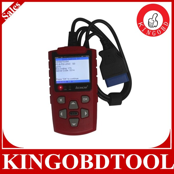 2014 New Super VAG 3.0 ISCANCAR Coder Scanner,handheld diagnostic scan tool, adjust mileage,read immobilizer code,match key prog