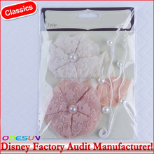 Disney Universal NBCU FAMA BSCI GSV Carrefour Factory Audit Manufacturer A Charmed Life Pink & White Paper Rose