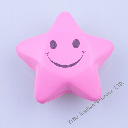 Star shape foam pu stress ball