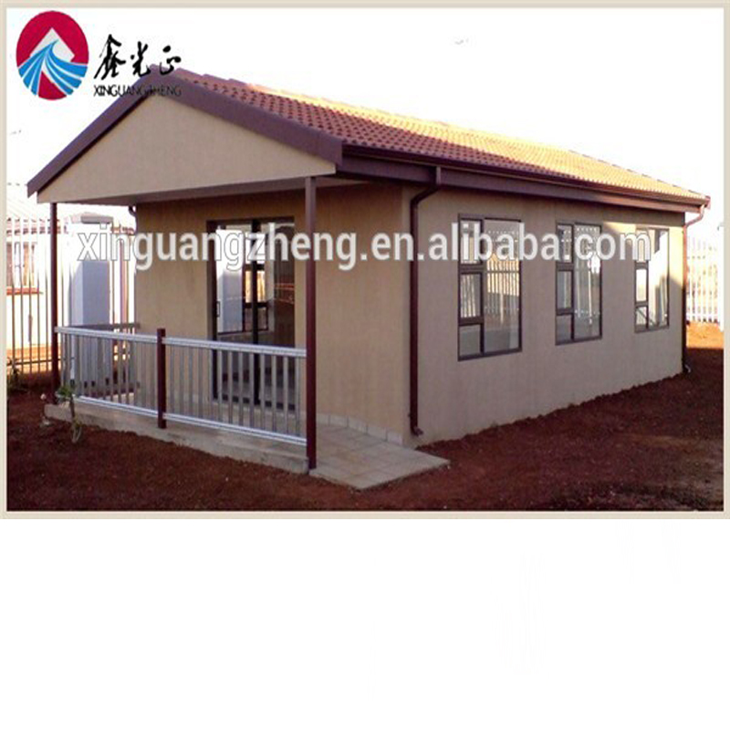 2017 Strong and cheap foaming concrete prefabricated house