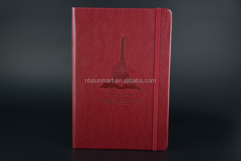 PU cover notebook A5 size