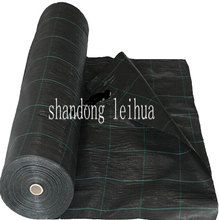 CBR puncture resistance durable feature ground cover black woven pp geotextiles fabric in roll