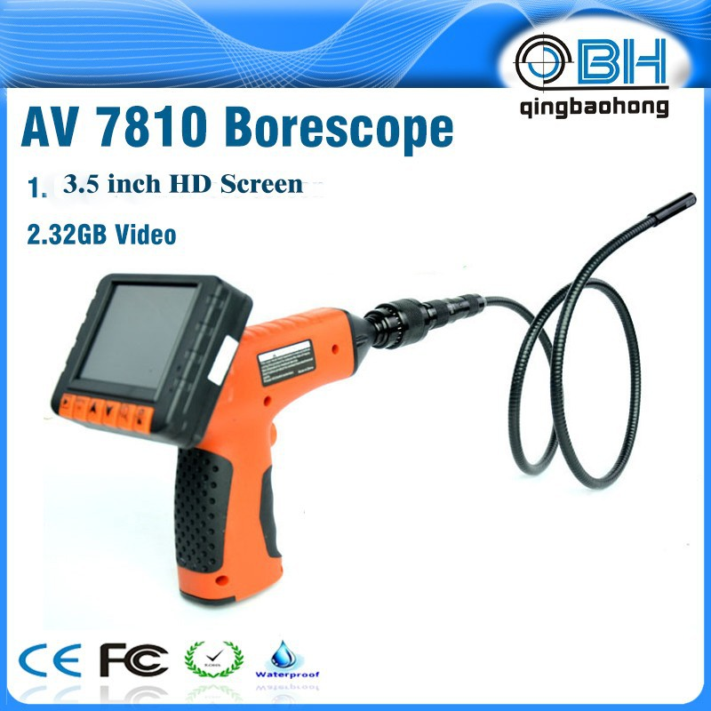 AV7810 night vision imagine diagnosis cameras