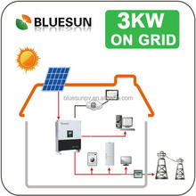 solar panel system 3000w design for solar home