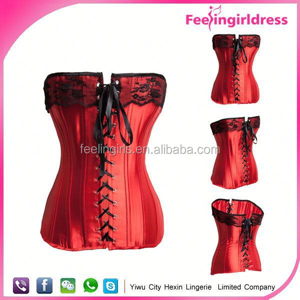 High quality plus size sexy bodysuit busty corset lingerie