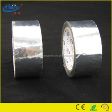 high quality 80 micron thickness heat resistance Shiny silver Aluminum foil tape