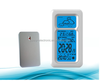 Sunny Digital Rf 433MHZ Wireless Weather Station With Outdoor Sensor