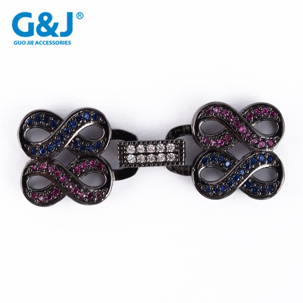 Guojie brand micro pave cubic zircon new design jewellery necklace pendant