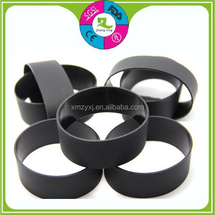 custom new mold waterproof rubber band silicone antislip bumper