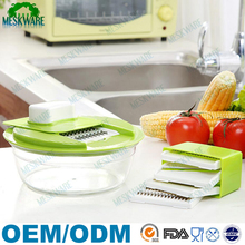 Vegetable mandoline slicer cutter potato slicer, cheese grater, julienne veggie peeler