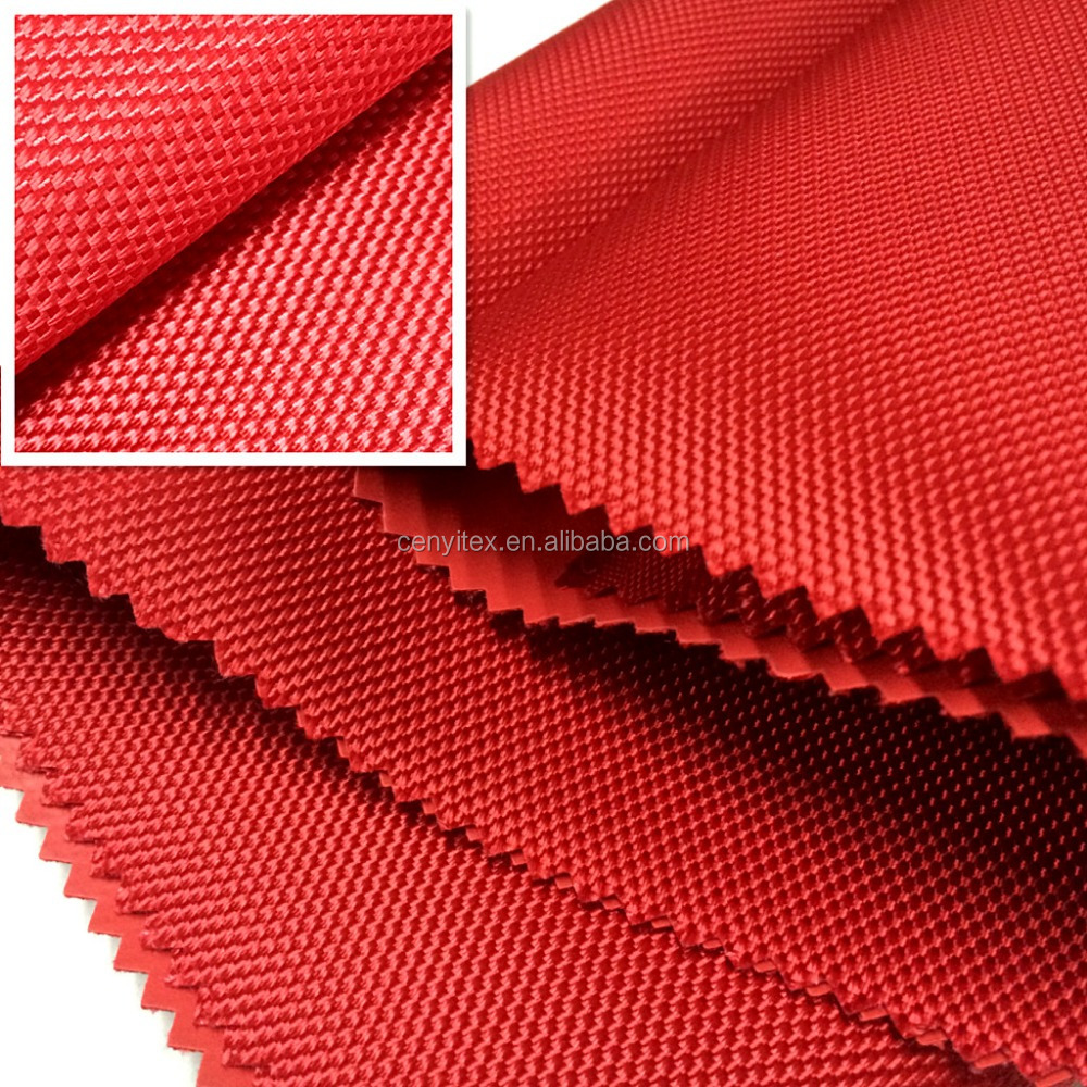 1680D oxford fabric double strand with PVC coated bag fabric good <strong>material</strong>