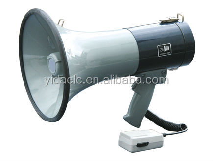 15 wattsRMS battery handy megaphone, high quality loudspeaker