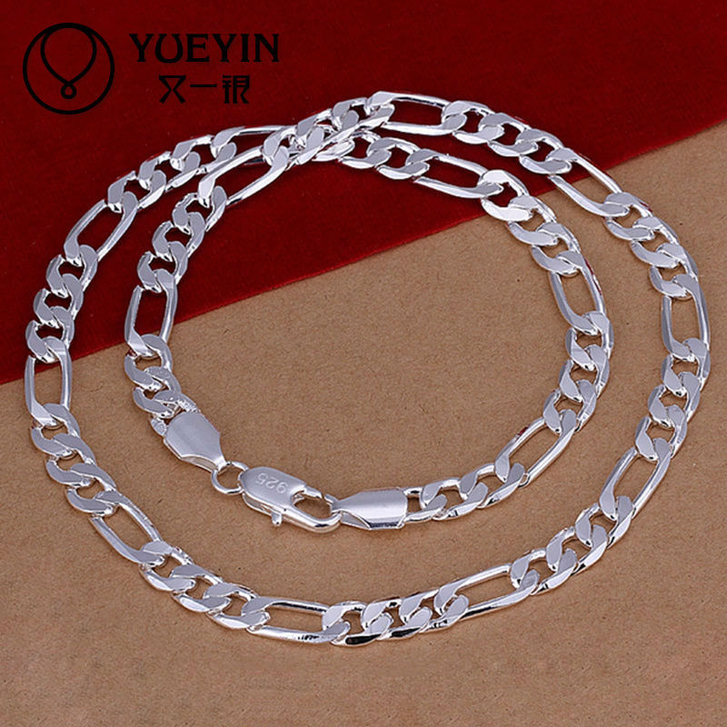 2014 SGS Certified 925 italy silver men chain