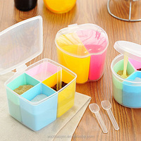 Kitchen Plastic Seasoning Box Spices Condiment