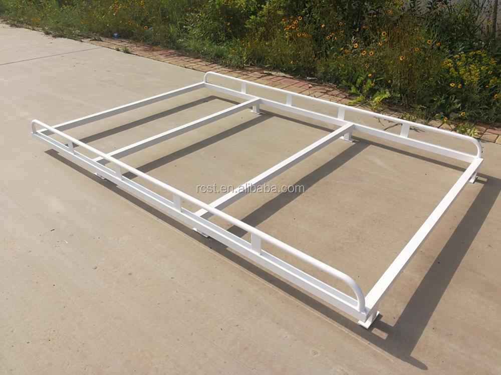 Overhang Cab Alloy Rack White 2400x1600mm(LxW) for Dual Cab UTE Canopy